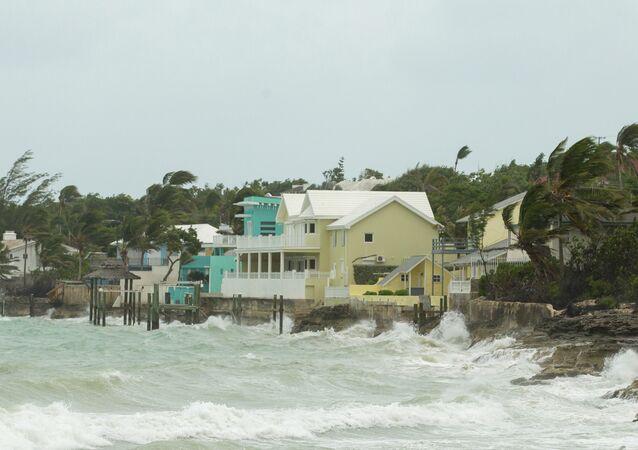 El huracán Irma en las Bahamas