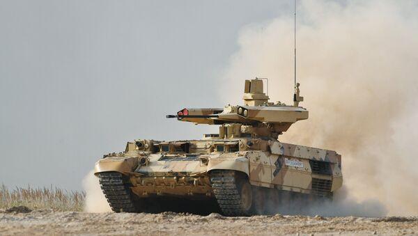 El vehículo de apoyo de fuego ruso BMPT-72 Terminator-2 - Sputnik Mundo