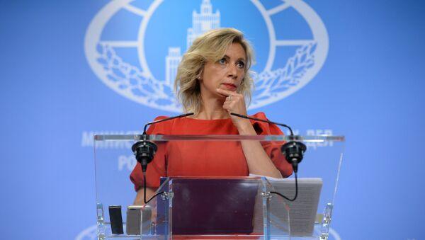 María Zajárova, portavoz del Ministerio de Exteriores de Rusia - Sputnik Mundo