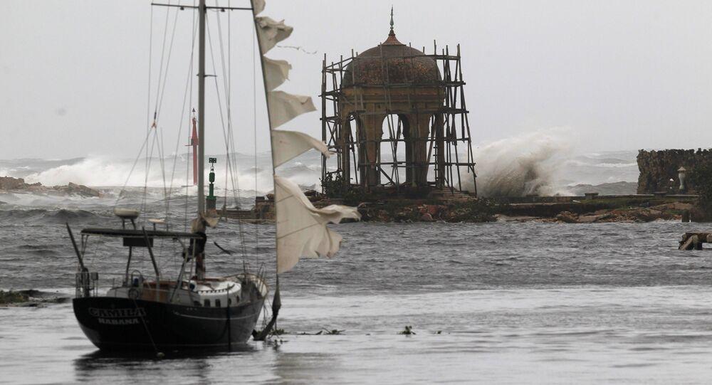 El huracán Irma en La Habana