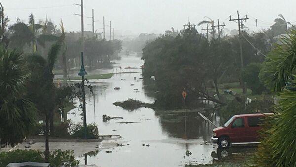 Huracán Irma en la isla de Marco - Sputnik Mundo