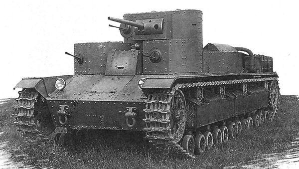 Т-28, 1932 - Sputnik Mundo