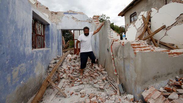 Consecuencias de un fuerte terremoto en México - Sputnik Mundo