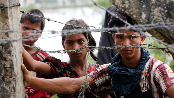 Refugiados rohinyás - Sputnik Mundo