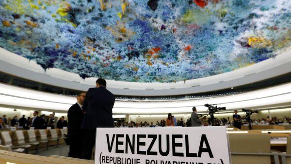 Consejo de Derechos Humanos de la ONU - Sputnik Mundo