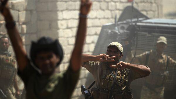 Los militares iraquíes (archivo) - Sputnik Mundo