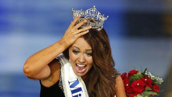 Cara Mund, ganadora de Miss América 2018 - Sputnik Mundo