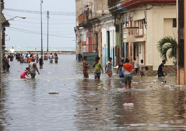 Consecuencias del huracán Irma en La Habana, Cuba
