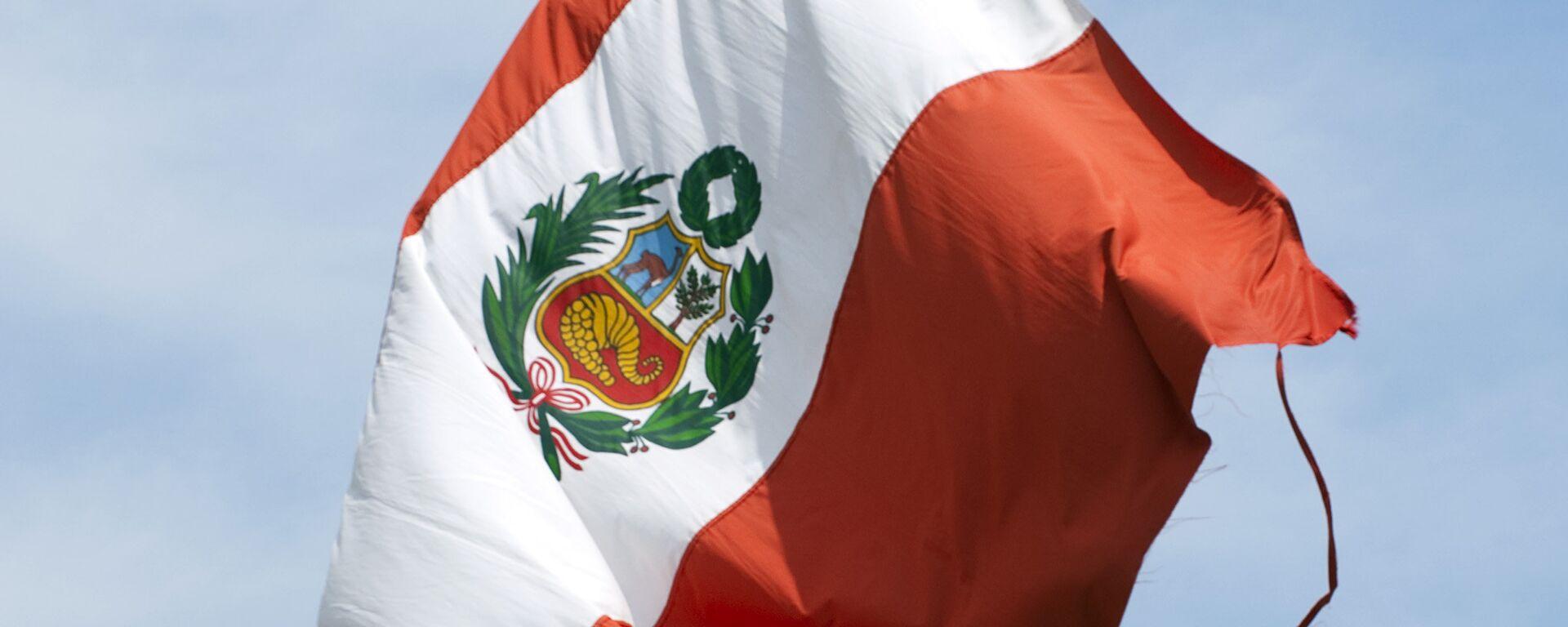 La bandera de Perú - Sputnik Mundo, 1920, 23.04.2021
