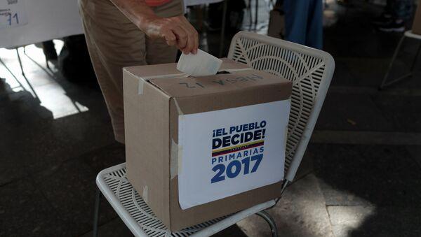 Las elecciones en Venezuela - Sputnik Mundo