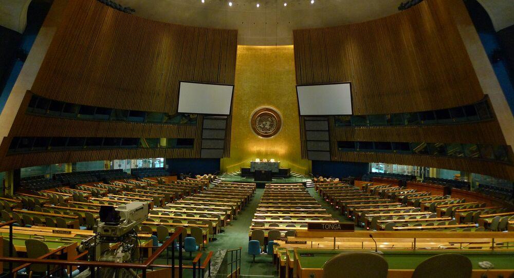 Asamblea General de la ONU (archivo)