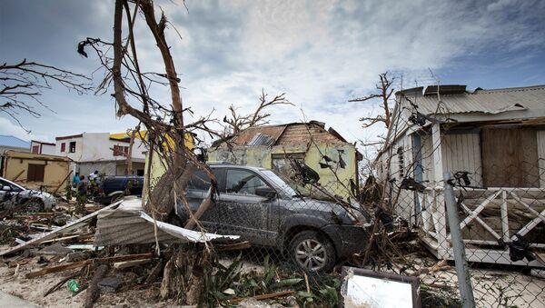 Las consecuencias del huracán Irma en Saint Martin - Sputnik Mundo