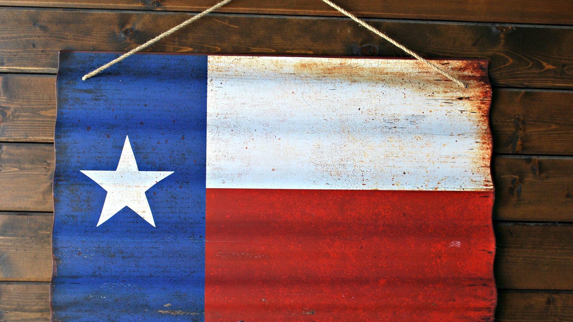 Bandera del Estado de Texas, EEUU - Sputnik Mundo, 1920, 23.03.2021