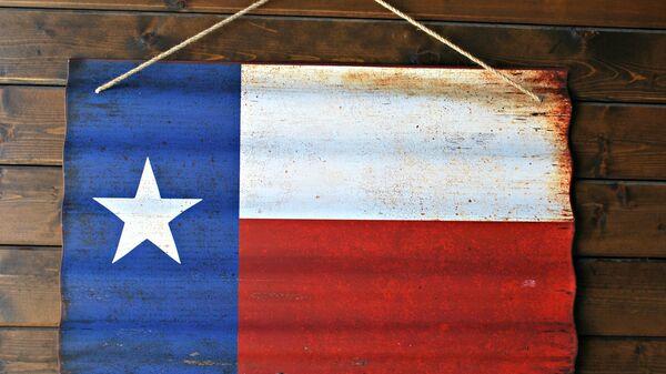 Bandera del Estado de Texas, EEUU - Sputnik Mundo