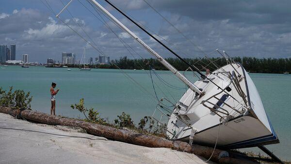 Concecuencias del huracán Irma - Sputnik Mundo