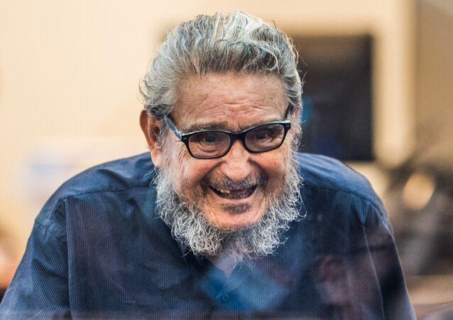 Abimael Guzmán, líder del grupo armado Sendero Luminoso de Perú (archivo)