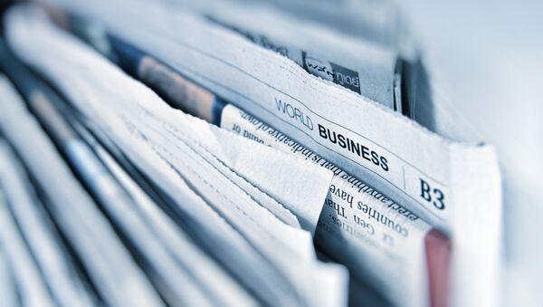 Periódicos (imagen referencial) - Sputnik Mundo
