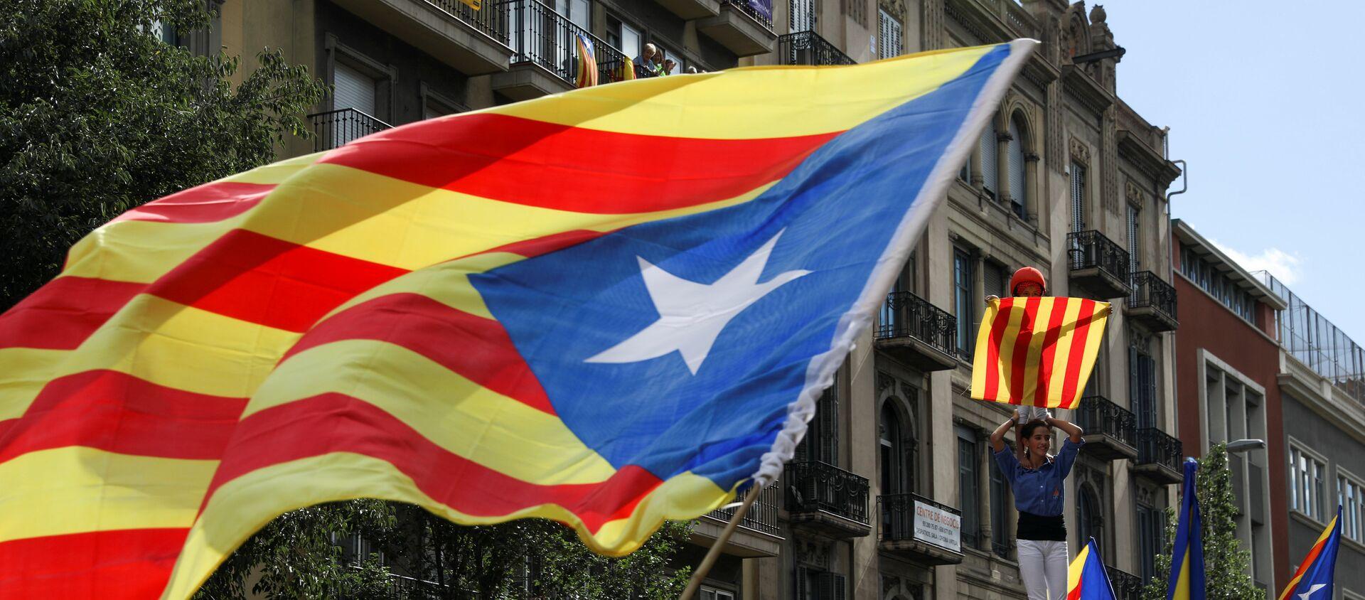 Estelada, bandera independentista de Cataluña - Sputnik Mundo, 1920, 21.11.2019