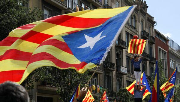 Bandera independentista catalana (archivo) - Sputnik Mundo