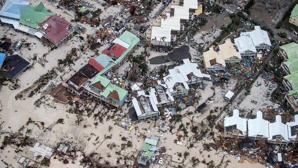 Consecuencias del huracán Irma en la isla de San Martín - Sputnik Mundo
