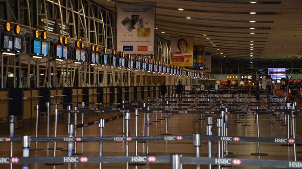 Aeropuerto en Santiago de Chile (archivo) - Sputnik Mundo