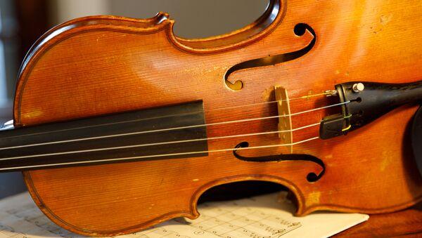Un violín (imagen referencial) - Sputnik Mundo
