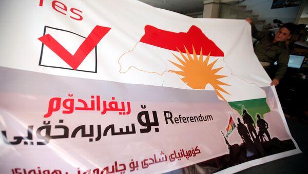 Preparaciones para el referéndum en Kurdistán iraquí - Sputnik Mundo