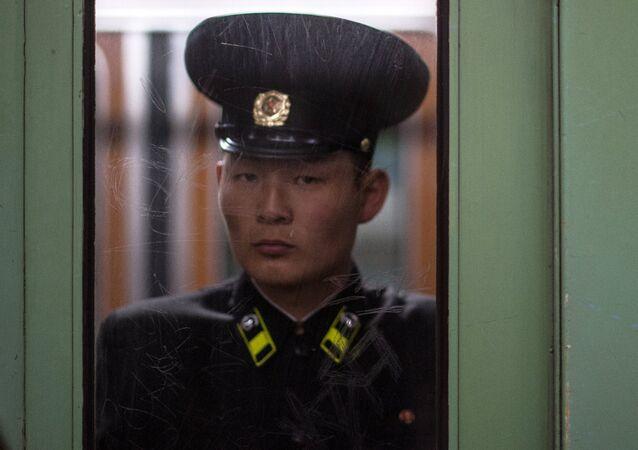 Un militar norcoreano (archivo)