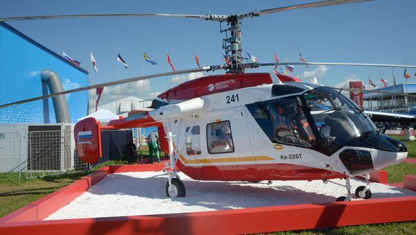 El helicóptero Ka-226T (archivo) - Sputnik Mundo
