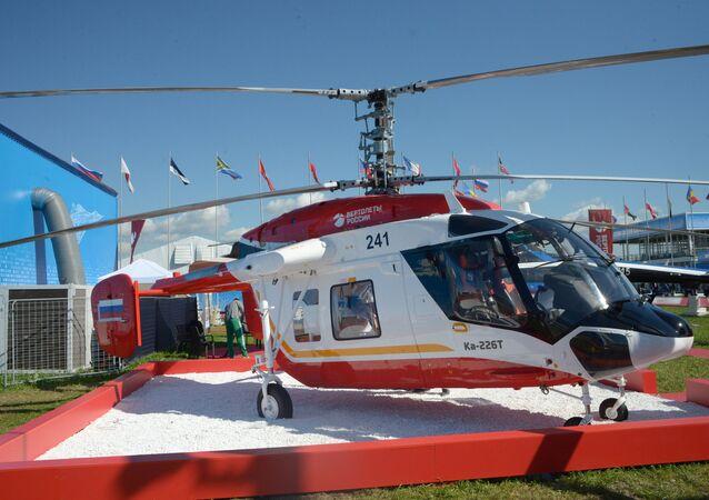 El helicóptero Ka-226T