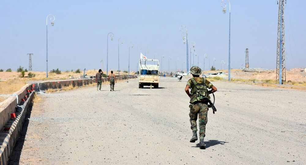 Un militar del Ejército sirio (archivo)