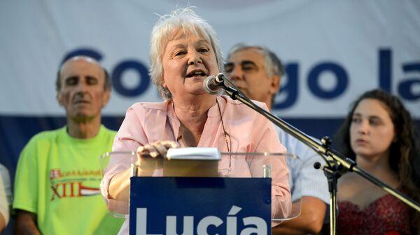 Lucía Topolansky, vicepresidenta de Uruguay - Sputnik Mundo