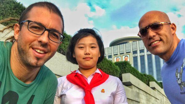 Filip Milosavljevic, guía turístico en Corea del Norte - Sputnik Mundo