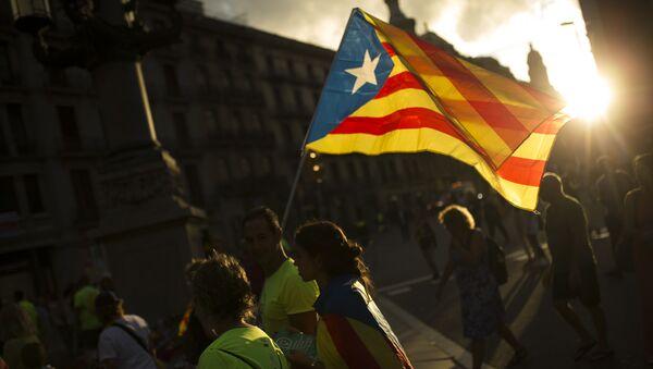 Estelada, bandera separatista de Cataluña - Sputnik Mundo
