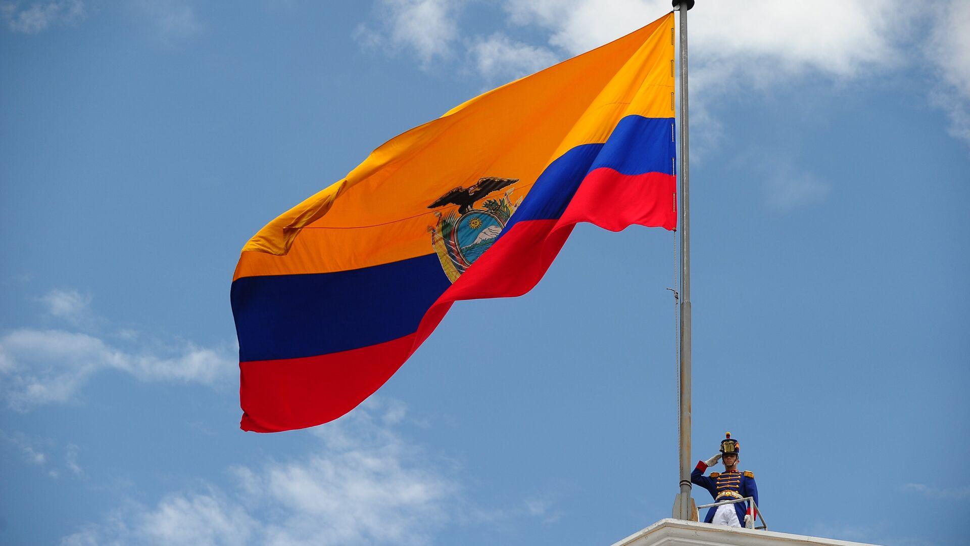 Bandera de Ecuador - Sputnik Mundo, 1920, 06.04.2021