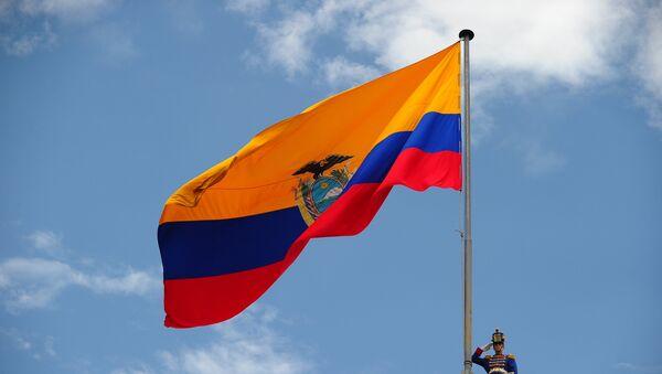 Bandera de Ecuador - Sputnik Mundo