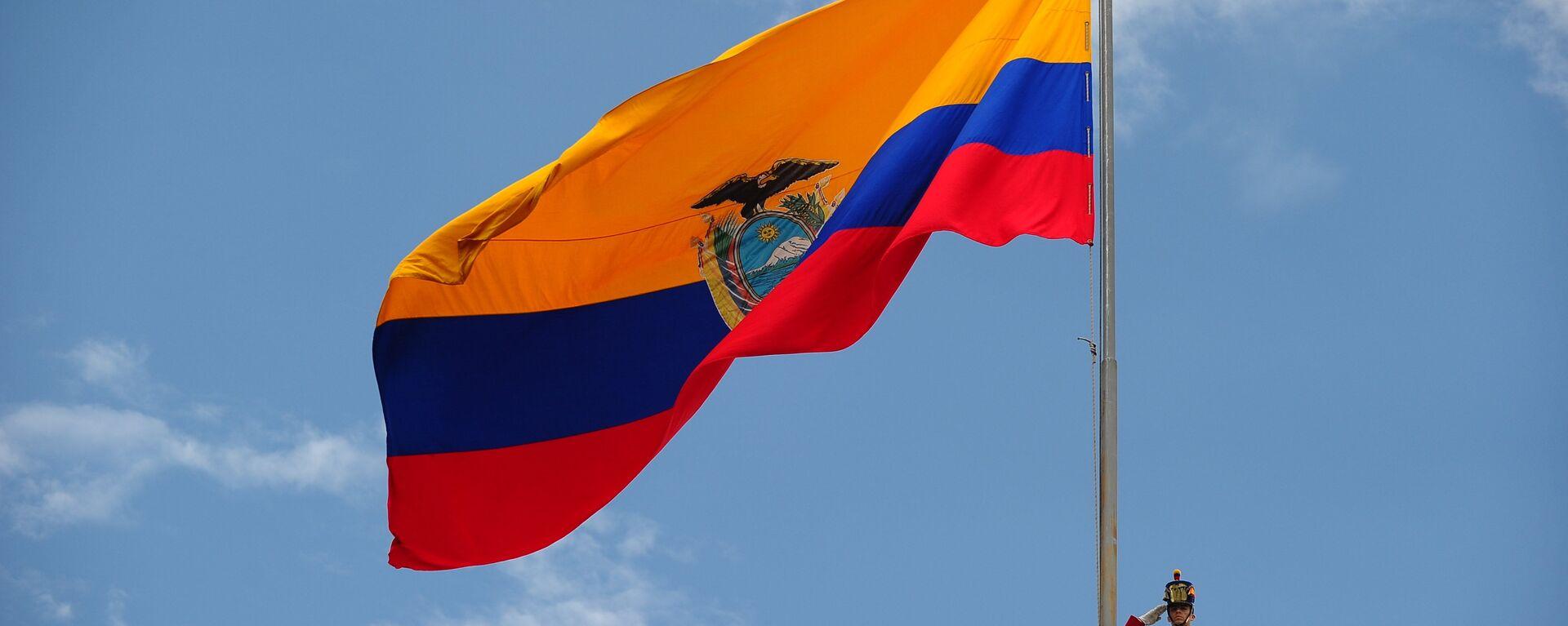 Bandera de Ecuador - Sputnik Mundo, 1920, 26.08.2021