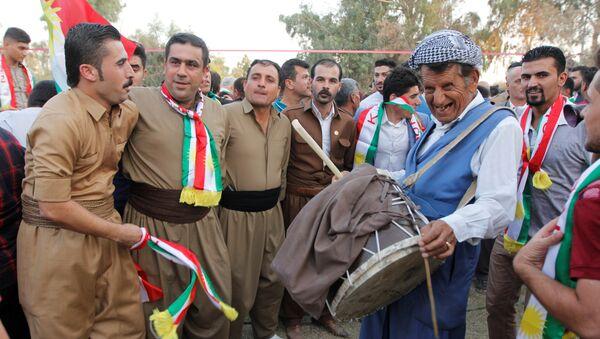 Los kurdos iraquíes, partidarios del referéndum independista - Sputnik Mundo