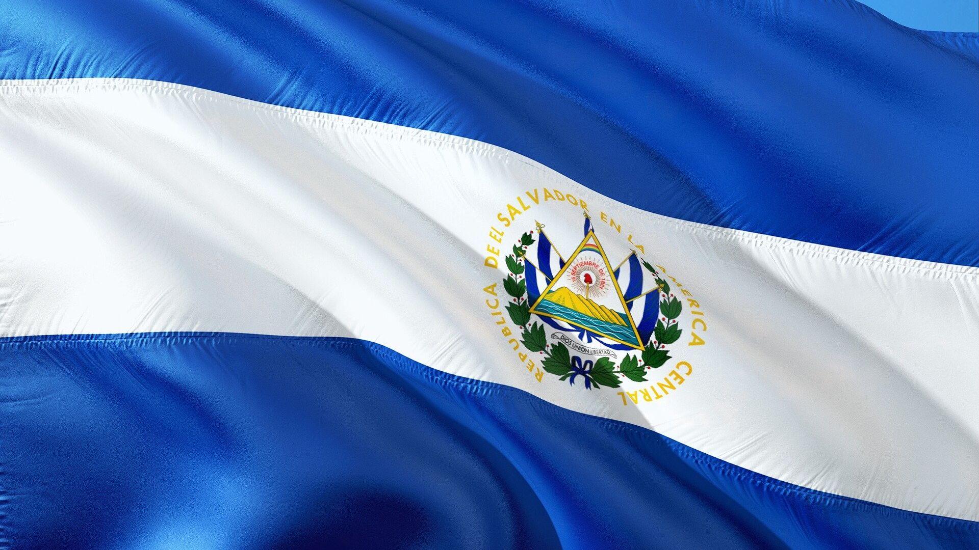 Bandera de El Salvador - Sputnik Mundo, 1920, 03.02.2021