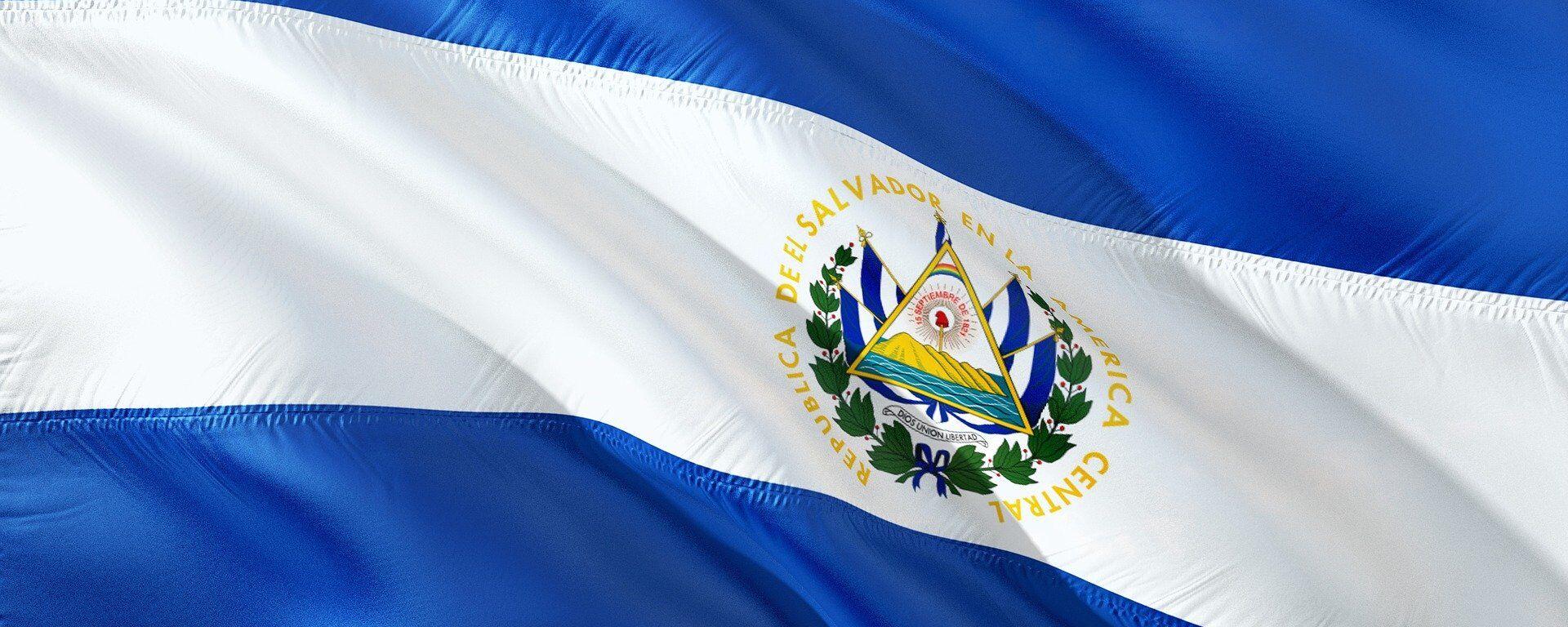 Bandera de El Salvador - Sputnik Mundo, 1920, 12.05.2021
