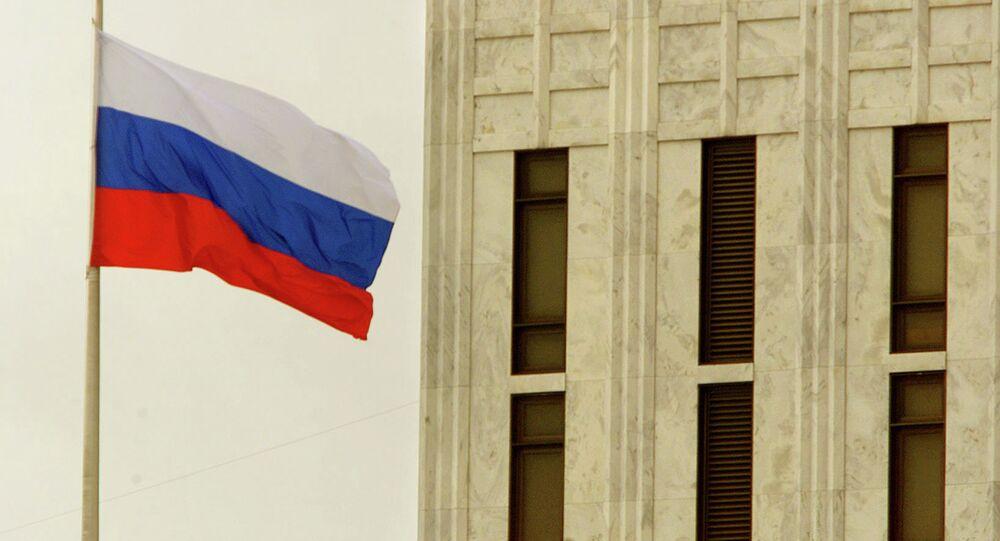 Embajada de Rusia en Washington, EEUU (archivo)