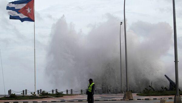 Huracán Irma en La Habana, Cuba - Sputnik Mundo