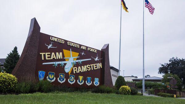 La base aérea estadounidense Ramstein (archivo) - Sputnik Mundo