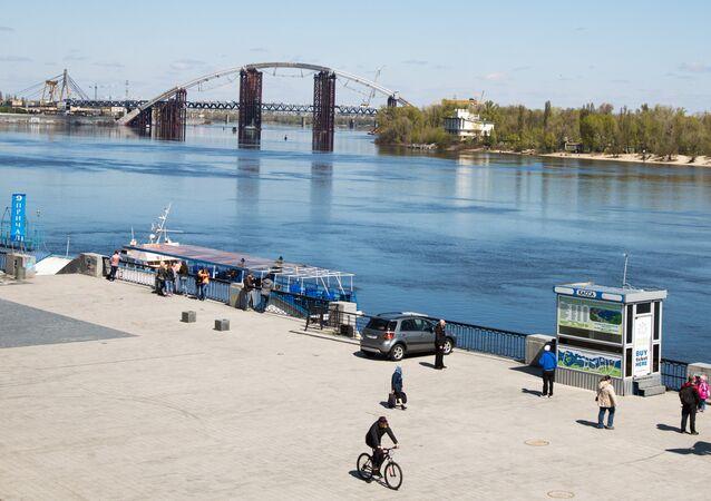 La vista del Dniéper, Kiev