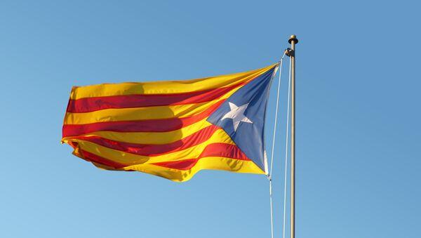 Bandera independentista de Cataluña (archivo) - Sputnik Mundo