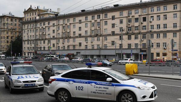 Policía en el centro de Moscú - Sputnik Mundo