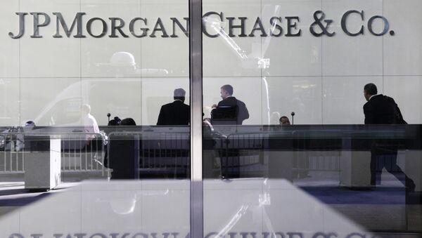 Sede de JPMorgan Chase en Nueva York - Sputnik Mundo