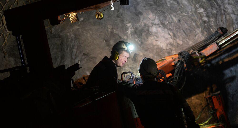 Mineros rusos
