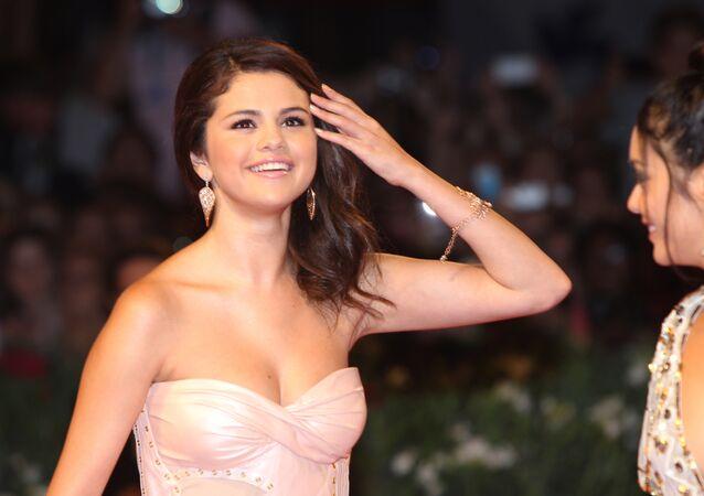 La cantante y actriz Selena Gomez (archivo).