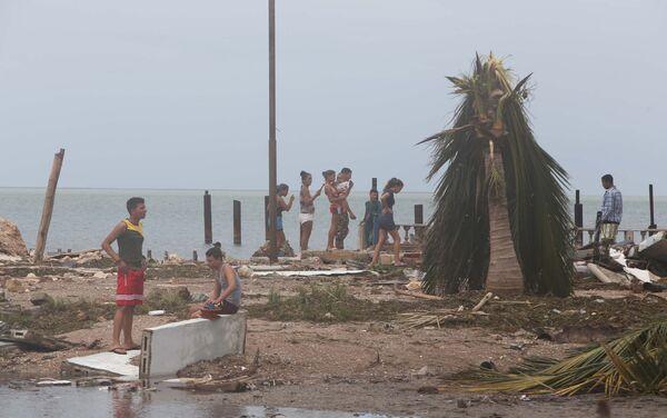 Consecuencias del huracán Irma en Cuba - Sputnik Mundo